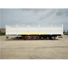 35ton Tri-axle Cargo Box Semi Trailers