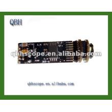 Pièces d'endoscope de caméra de 0,3mega pixels, mini module de caméra, caméra de CMOS