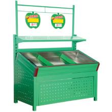 Moderno diseño caliente de la venta de frutas y verduras estantes almacenamiento estante de frutas cesta de fruta de los estantes