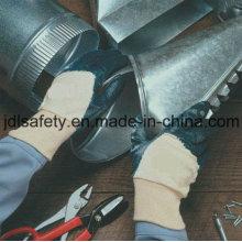 Cepillo de Terry de punto guantes con nitrilo de recubrimiento de nitrilo medio (NB1510) de trabajo