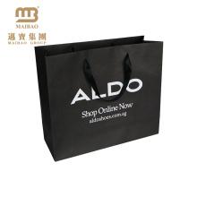 Элегантный Прочный Изготовленный На Заказ Роскошный Дизайн Логотипа Печатных Хозяйственные Носить Обувь Крафт Бумажный Мешок Для Упаковки