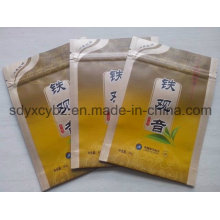 Tea Aluminum Foil Ziplock Plastic Packaging Bag