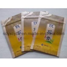 Пластиковая упаковочная сумка Ziplock из чайной алюминиевой фольги