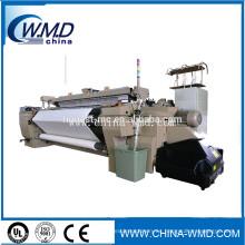 Máquina de telar de telar de chorro de aire automática de tela china para camiseta de algodón y tela de polo