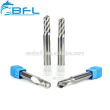 Подгонянные BFL одиночные биты маршрутизатора гравировки каннелюры, резец гравировки карбида