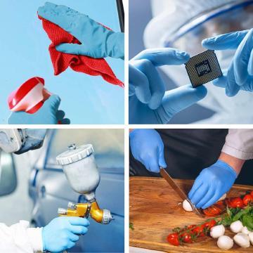 Нитриловые одноразовые перчатки для приготовления пищи