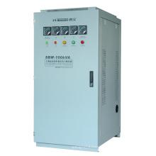 Однофазный и трехфазный полноавтоматический компенсационный стабилизатор напряжения (SBW)