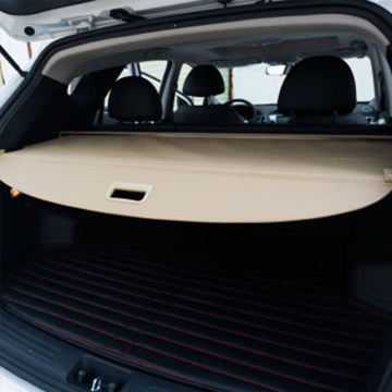 Rear Trunk Cargo Cover Beige Color for XC90