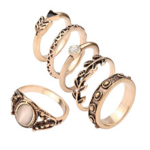 Cheap Jewelry Crown Fashion Alloy Ring New Model Weeding Ring