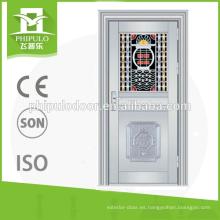 puerta de cristal de la prueba del ladrón de la tienda de la prueba del ladrón del buen diseño de China