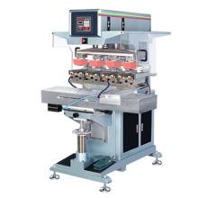 Quatre couleurs coussin indépendant Machine avec navette de tampographie