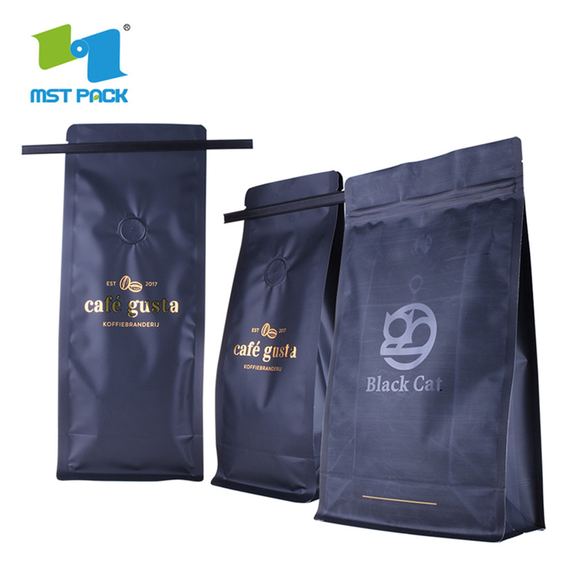 coffee bag with hot stamping