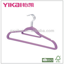 Set of 3pcs rubber lacquer ABS hanger with notches and trousers bar