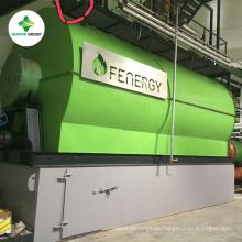 Aceite residual de alta tecnología de la venta y aceite de la pirólisis en el proveedor de la planta de diesel