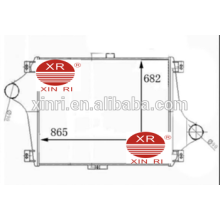 Chine fabricant alimentation intercooler en aluminium pour RENAULT intercooler camion 5000749470 NISSENS: RE4019