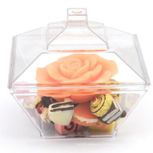 PP/PS Plastic Bowl 83ml Square Bowl with Lid