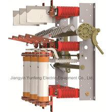 Unidad combinada Fn7-12r (T) D / 125-31.5-Gas-Production Hv Switchgear Fuse