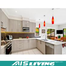 Mobília dos armários de cozinha da cor do dobro da U-Forma (AIS-K973)