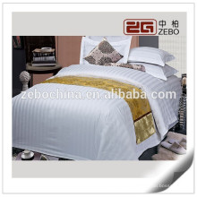3cm Stripe Fabric Cotton High Quality Cheap Wholesale Hospital Bed Linen