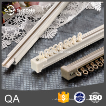 Building materials wall mounting silent curtain track
