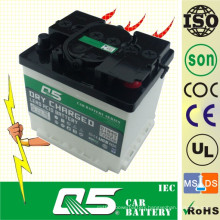 DIN44 12V44AH, Dry Charged Car Battery Storage Truck Battery