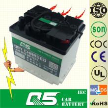 DIN50 12V50AH, bateria de carro auto carregada a seco Q5 Potência