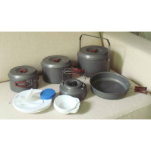 Outdoor Hiking Camping Cookware Set (CL2C-DT2315-8)