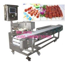 Automatische Souvlaki-Aufsteckspindeln-Maschine für Verkauf, Aufsteckspindeln-Maschine