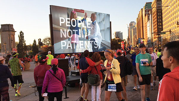Mobile Led Display Trailer Chicago Marathon