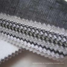 Interlining de fusão não tecido do bordado do terno de negócio