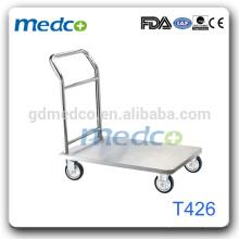 T426 Medical tool trolley hospital emergency trolley