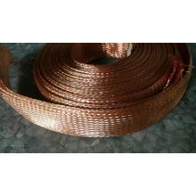Mangas trançadas de cobre resistente ao calor de 1/2 ''
