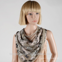 New style ladies fashion polyester printing scarf