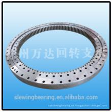 Rueda de giro de precisión rodamiento de anillo de giro para sistemas de antena