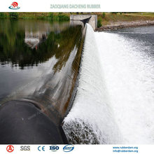 Good Ageing Resistance Inflatable Rubber Dam for Spillway