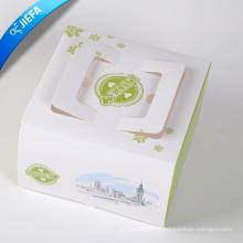 Accepter la boîte de papier imprimée par coutume pour le vêtement avec la fenêtre
