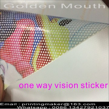 Stiker Stiker Kaca Film One Way Vision