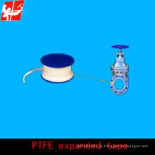 Grafito ptfe cinta de expansión para el sello de la máquina, cinta blanca