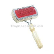 High Quality Bamboo Handle Pet Slicker Brush