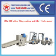 High Efficiency Pillow Filling Complete Set of Production Line
