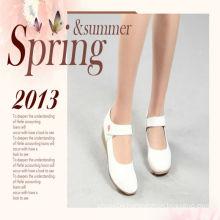 Wholesale classical white women nurse shoes