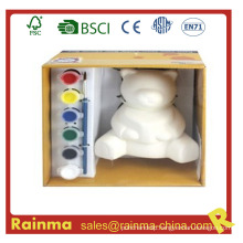 Bear Porcelain Water Color Paint for Kids Gift