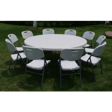 6ft Outdoor Banquet Plastic Folding Round Table From China