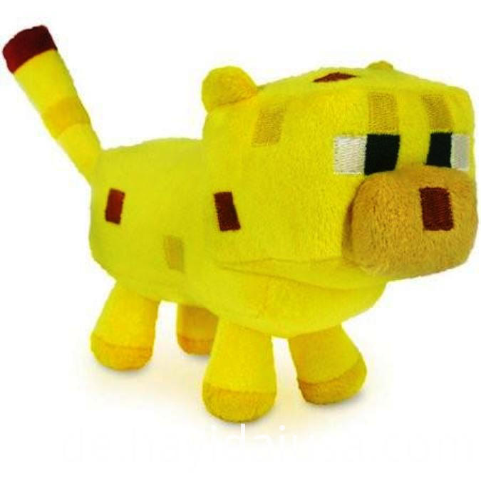 Plush Video Game Character Toy Yellow Cat
