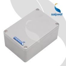 IP66 Водонепроницаемый Алюминиевый Распределительная Коробка Оптовая Лучшая Цена 125 * 80 * 55 мм Электронный Алюминиевый Корпус с 4 Винтами