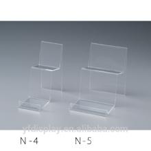 Kundenspezifische Form Klare Acryl Schuhhalter / Acryl Schuh Regale