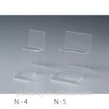 Customized Shape Clear acrylic shoe holder/acrylic shoe shelves