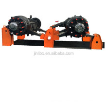 Two axle suspension for trailer