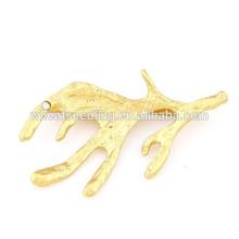 2015 horquilla animal popular popular de la aleación del chapado en oro del oro de la manera de la venta