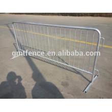 Barrière de contrôle de foyer en métal personnalisée, barricades portatives, barrières pour piétons